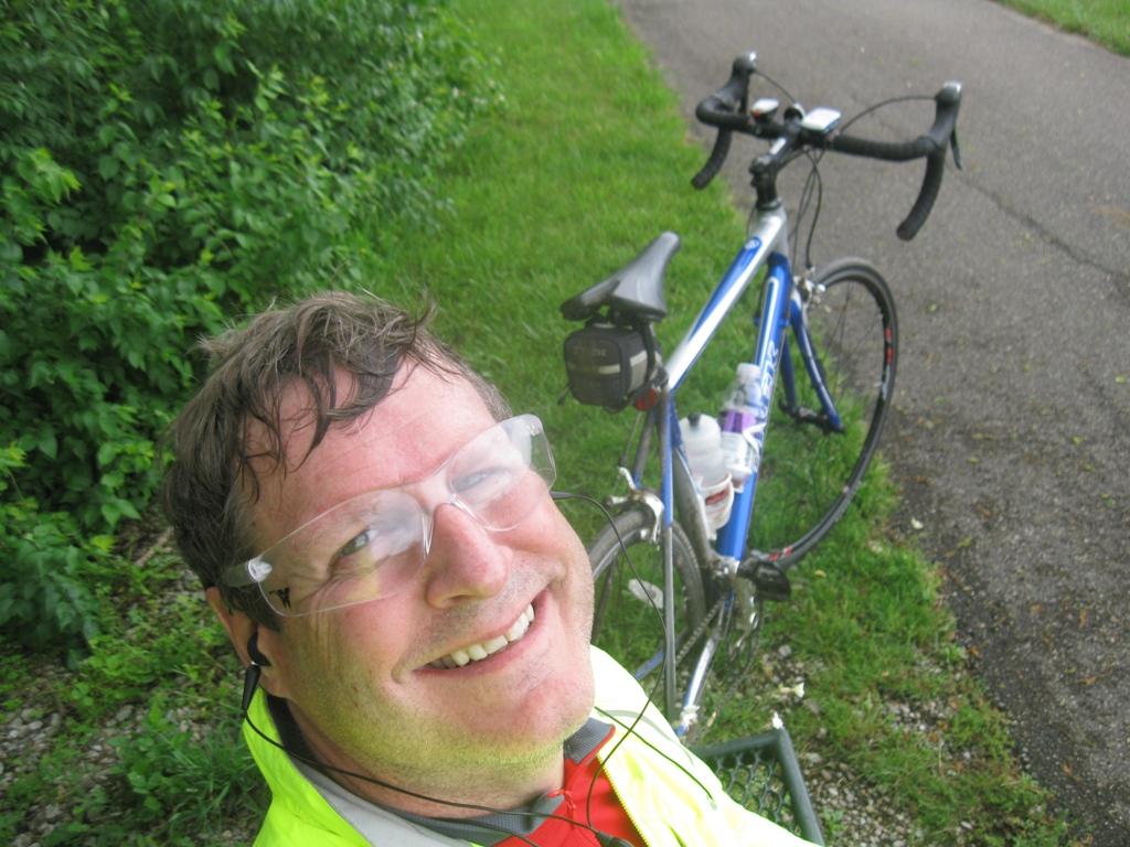 20 Mile Bench Ride at the half way mark.